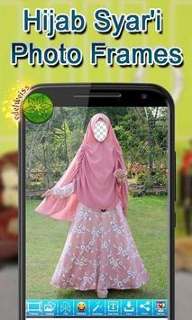 Hijab Syar'i Photo Frames screenshot 8