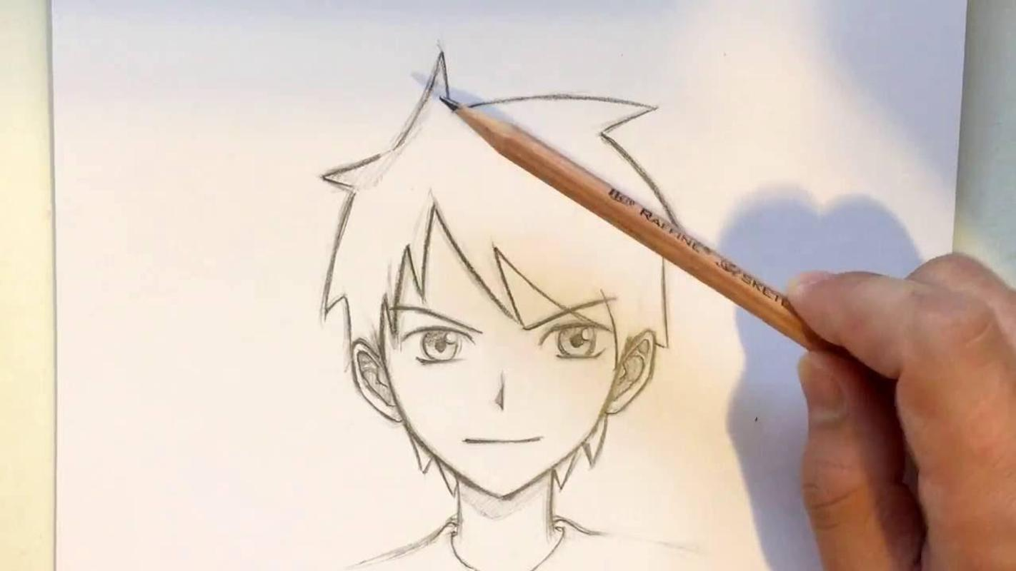 Drawing Anime Boy Ideas For Android Apk Download