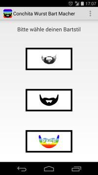 Conchita Wurst Beard Maker apk screenshot