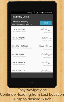 Read Holy Quran screenshot 9