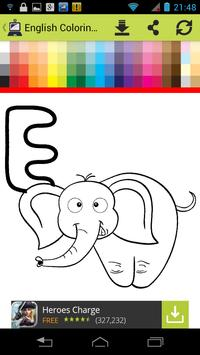 My English Colouring Book apk screenshot