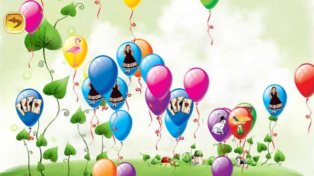 Pop Balloon Alice in Wonderland screenshot 1