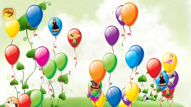 Pop Balloon Alice in Wonderland screenshot 5
