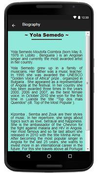 Yola Semedo  Lyrics Music screenshot 2