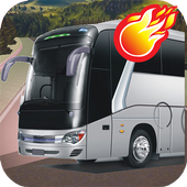 3D Telolet Bus Racing icon