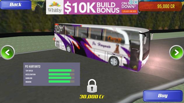 3D Telolet Bus Racing poster