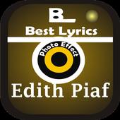 New Lyrics Edith Piaf icon