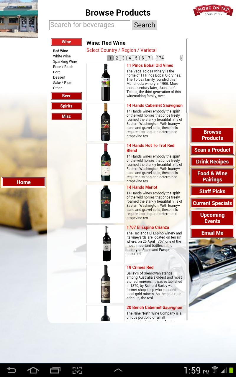 Edgewood Wine & Spirits poster