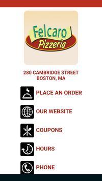 Felcaro Pizzeria poster