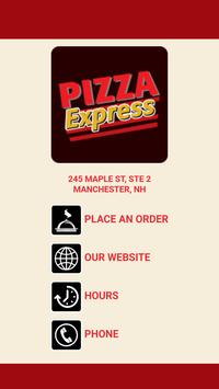 Pizza Express Manchester poster