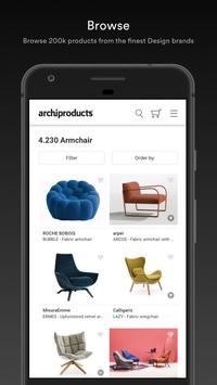 Archiproducts screenshot 1