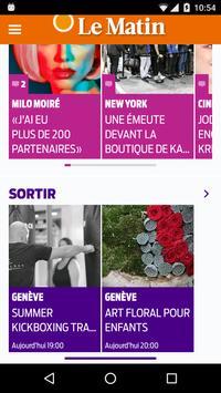 LE MATIN apk screenshot