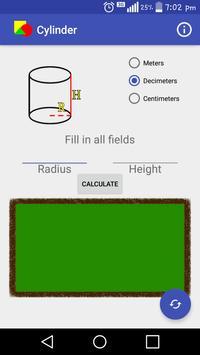 Geometry Calculator apk screenshot