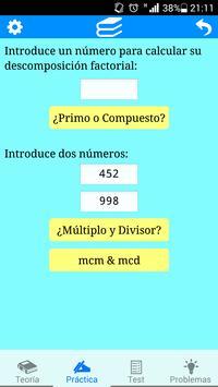 Divisibilidad apk screenshot