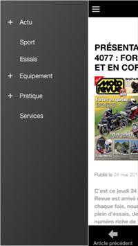 Moto Revue - News et Actu Moto screenshot 1