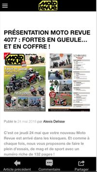 Moto Revue - News et Actu Moto screenshot 3