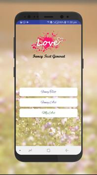 Stylish & Fancy Text Generator‏ apk screenshot