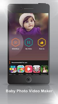 Baby Photo Video Maker poster