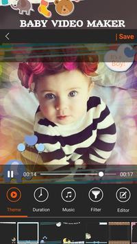Baby Video Maker apk screenshot