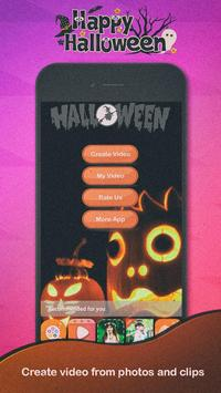 Halloween Video Maker poster