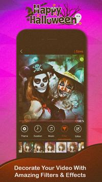 Halloween Video Maker apk screenshot