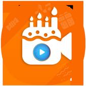 Happy Birthday Video Editor icon