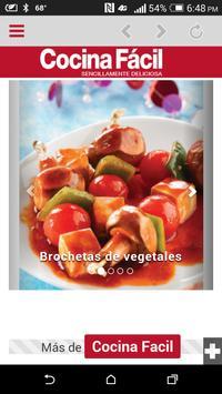 Cocina Fácil Móvil poster