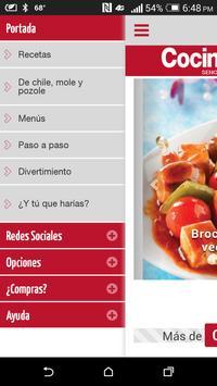Cocina Fácil Móvil screenshot 1