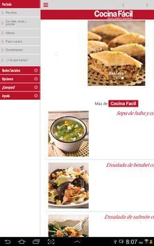 Cocina Fácil Móvil screenshot 5