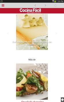 Cocina Fácil Móvil screenshot 8