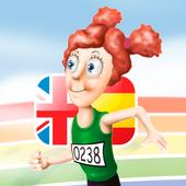 Alba corre por el arcoíris icon