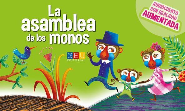 La Asamblea de los monos poster