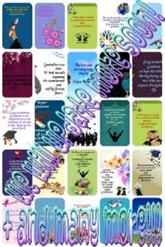 Graduation Wishes Card apk screenshot