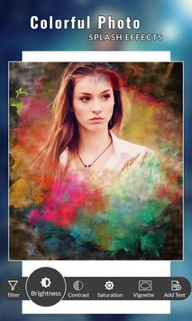 Colorful Photo Splash Effects poster