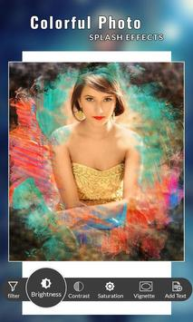 Colorful Photo Splash Effects screenshot 1