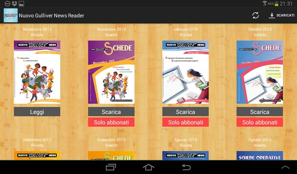 Nuovo Gulliver News Reader apk screenshot