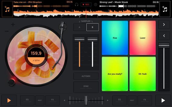 edjing Mix: DJ musiekmixer APK-screenhot