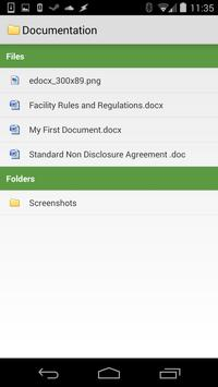 Edocx apk screenshot