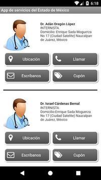 App de servicios del Estado de México apk screenshot