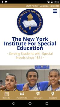 NY Institute For Special Edu. poster