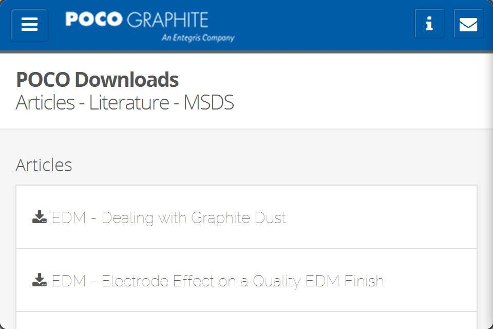 Poco Graphite EDM Tech Manual for Android - APK Download