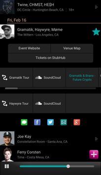 Edmtrain Concerts apk screenshot