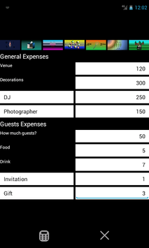 Party Cost screenshot 2