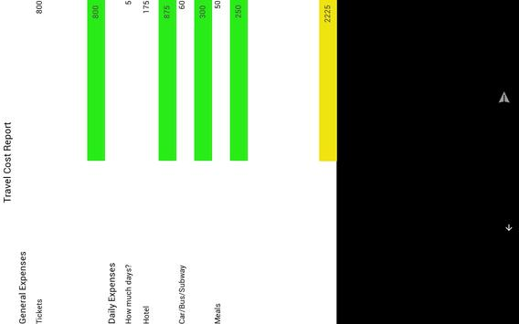Travel Cost screenshot 8