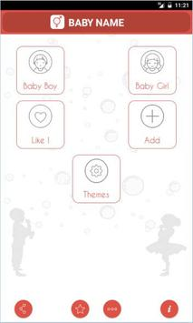 Baby Names and Meaning poster