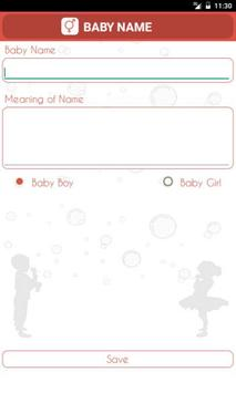 Baby Names and Meaning apk screenshot