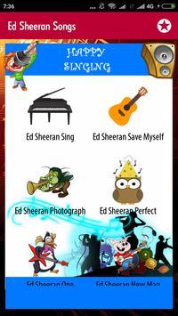 Ed Sheeran Songs screenshot 3