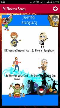Ed Sheeran Songs screenshot 4