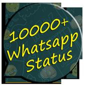 10000+ Whatsapp Status icon
