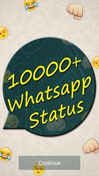 10000+ Whatsapp Status poster